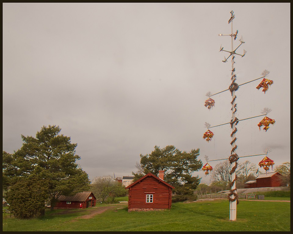 aland island maypole the real deal evolved from downs jim