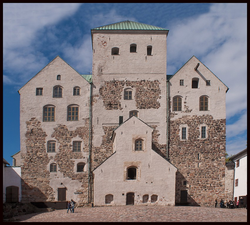 th c castle at turku finland author downs jim