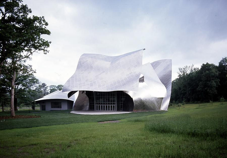 bard college fisher perf arts ctr frank o gehry de hull ray