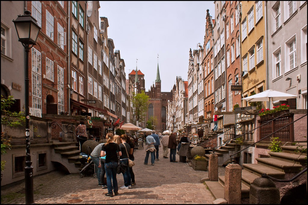 gdansk poland old town larger view author down downs jim