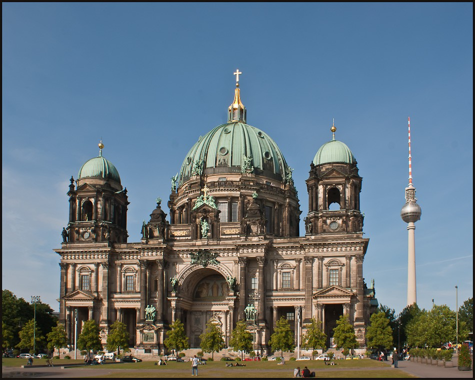 berlin cathedral tv tower view larger author dow downs jim