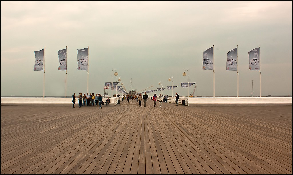 the pier at sopot poland larger view author down downs jim