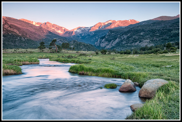 moraine park sunrise in june by molly murk author gricoskie jared