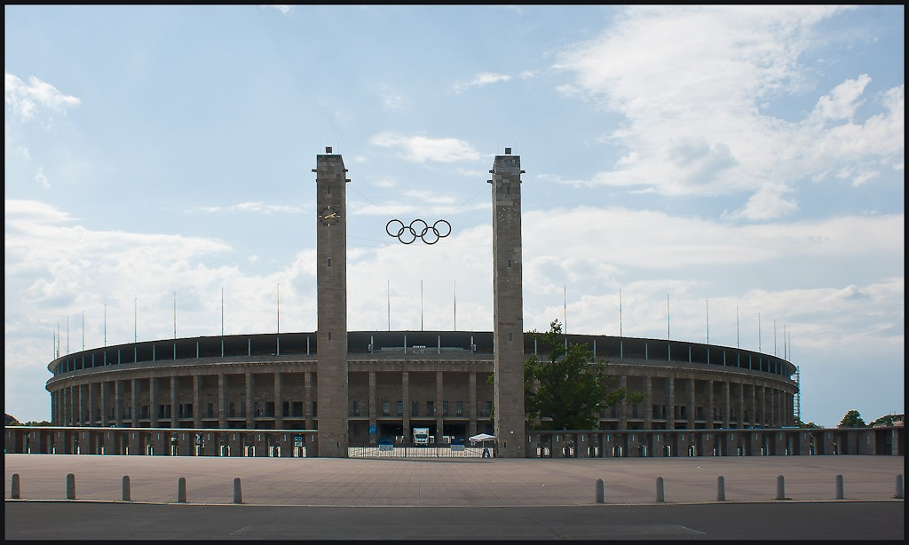 berlin olympic stadium big view available author downs jim