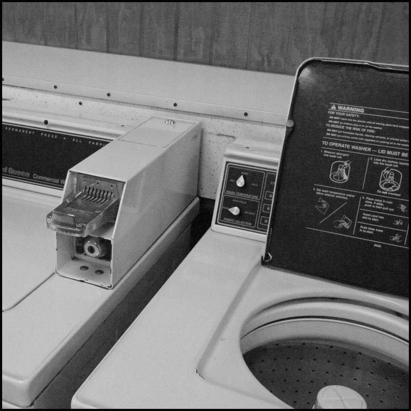 washer with lid open author demshock john