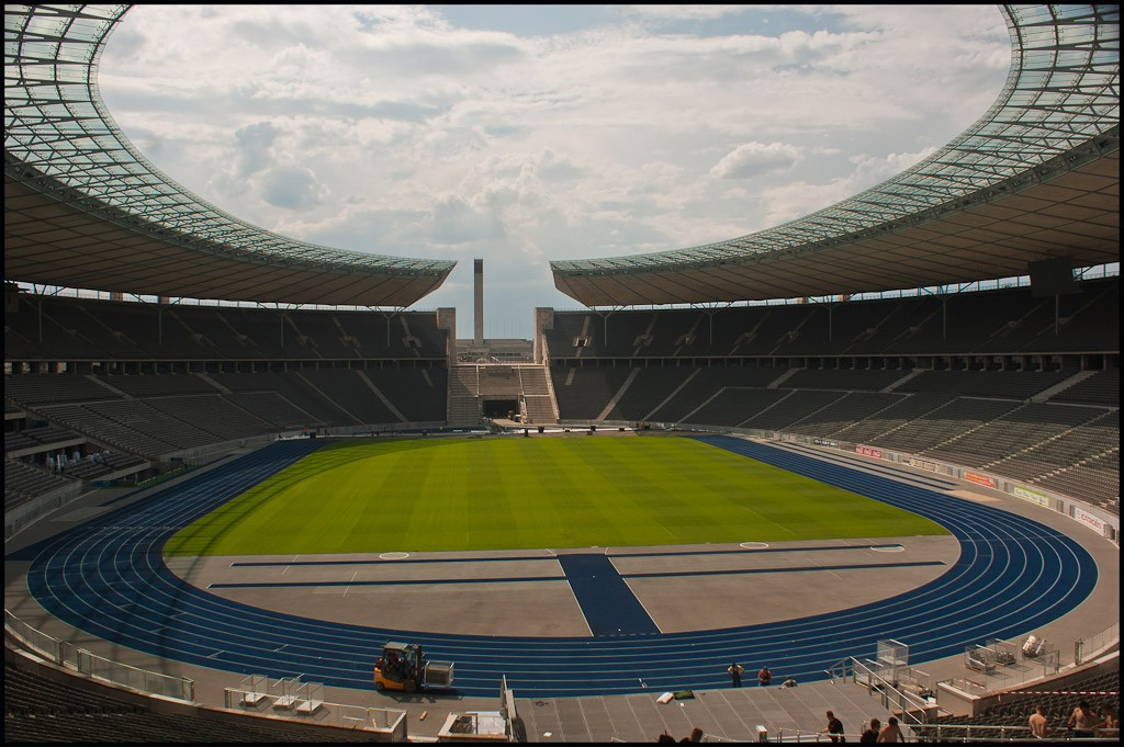 berlin olympic stadium lg view available author downs jim