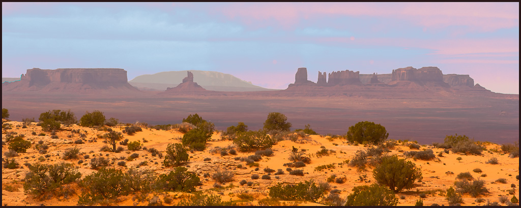 monument valley az from the ne clik large view a downs jim