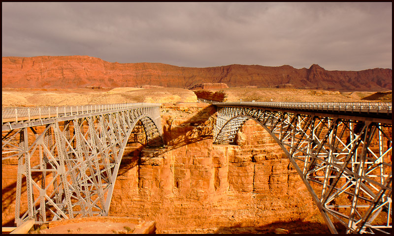 dual spans over colorado river marble canyon auth downs jim