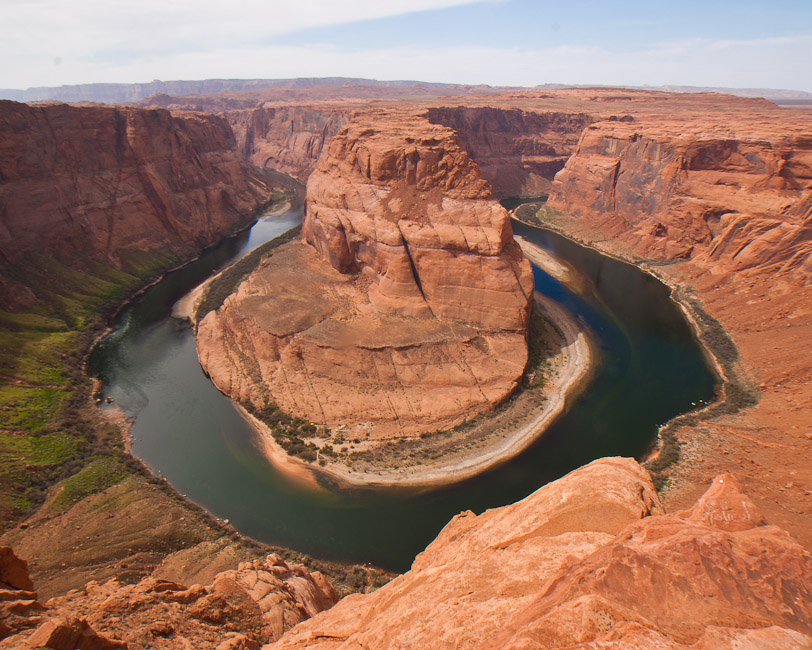 horseshoe bend panorama view larger author downs jim