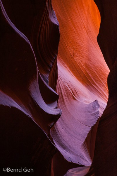 upper antelope canyon author geh bernd