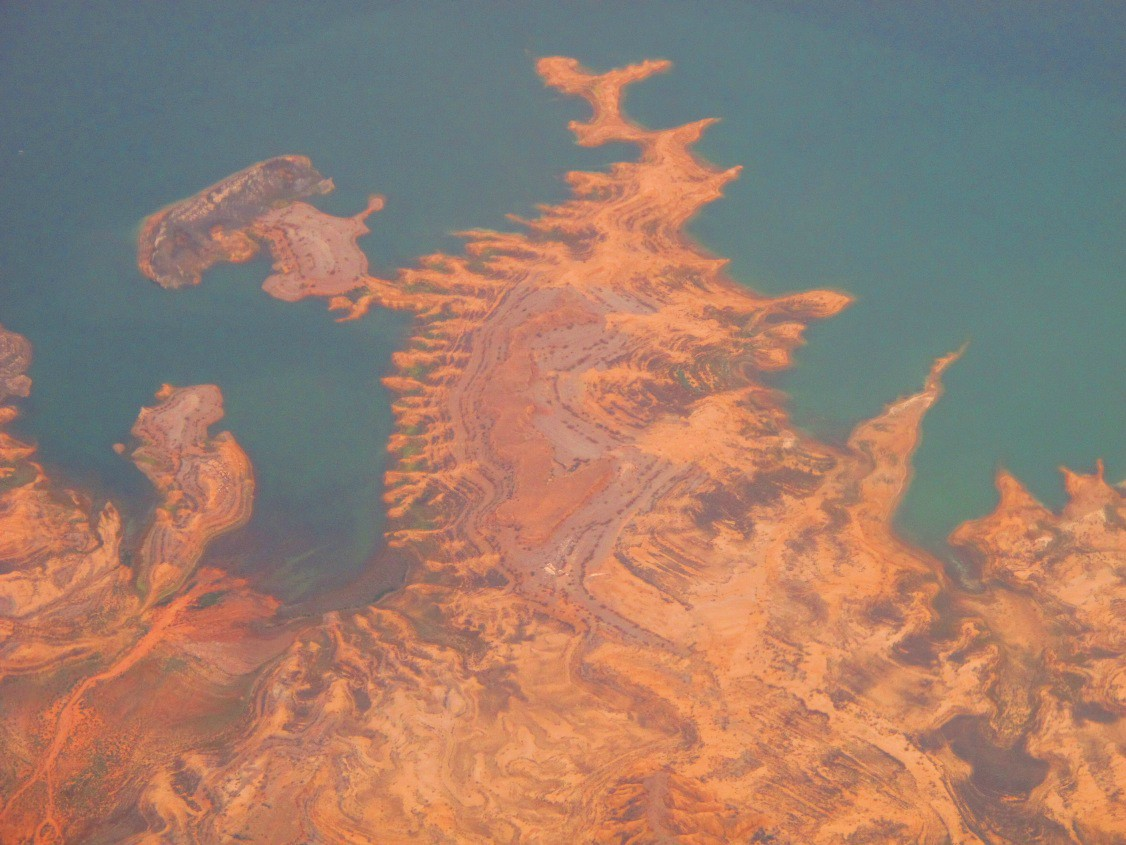lake mead from the sky img author dreizler bob