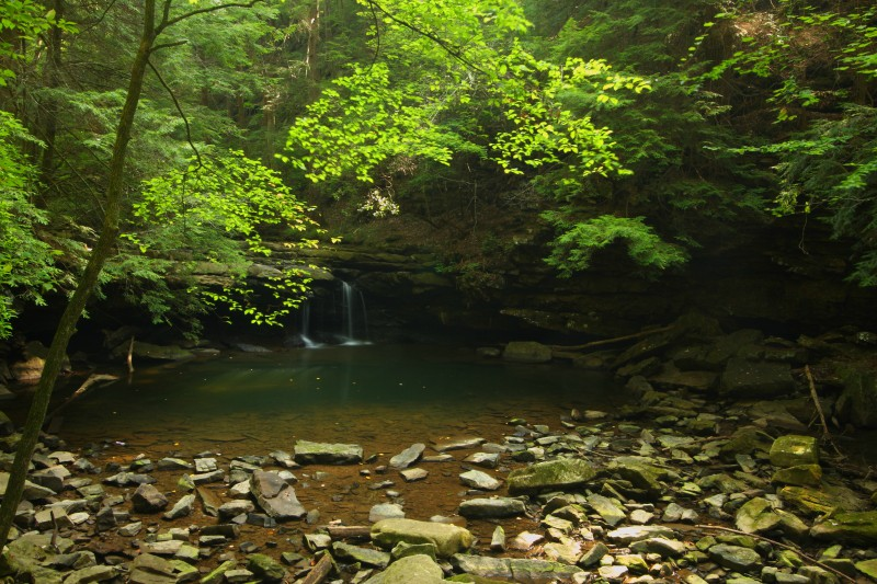 blue hole falls grundy forest tennessee author sz szulecki joshua