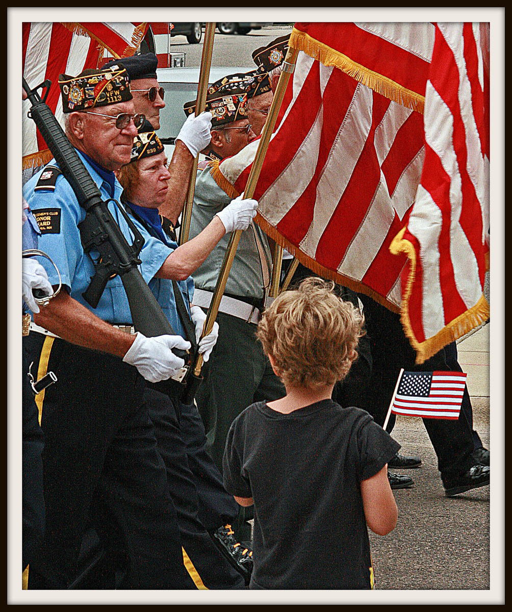 the old and young honor flag author pluskwik paul