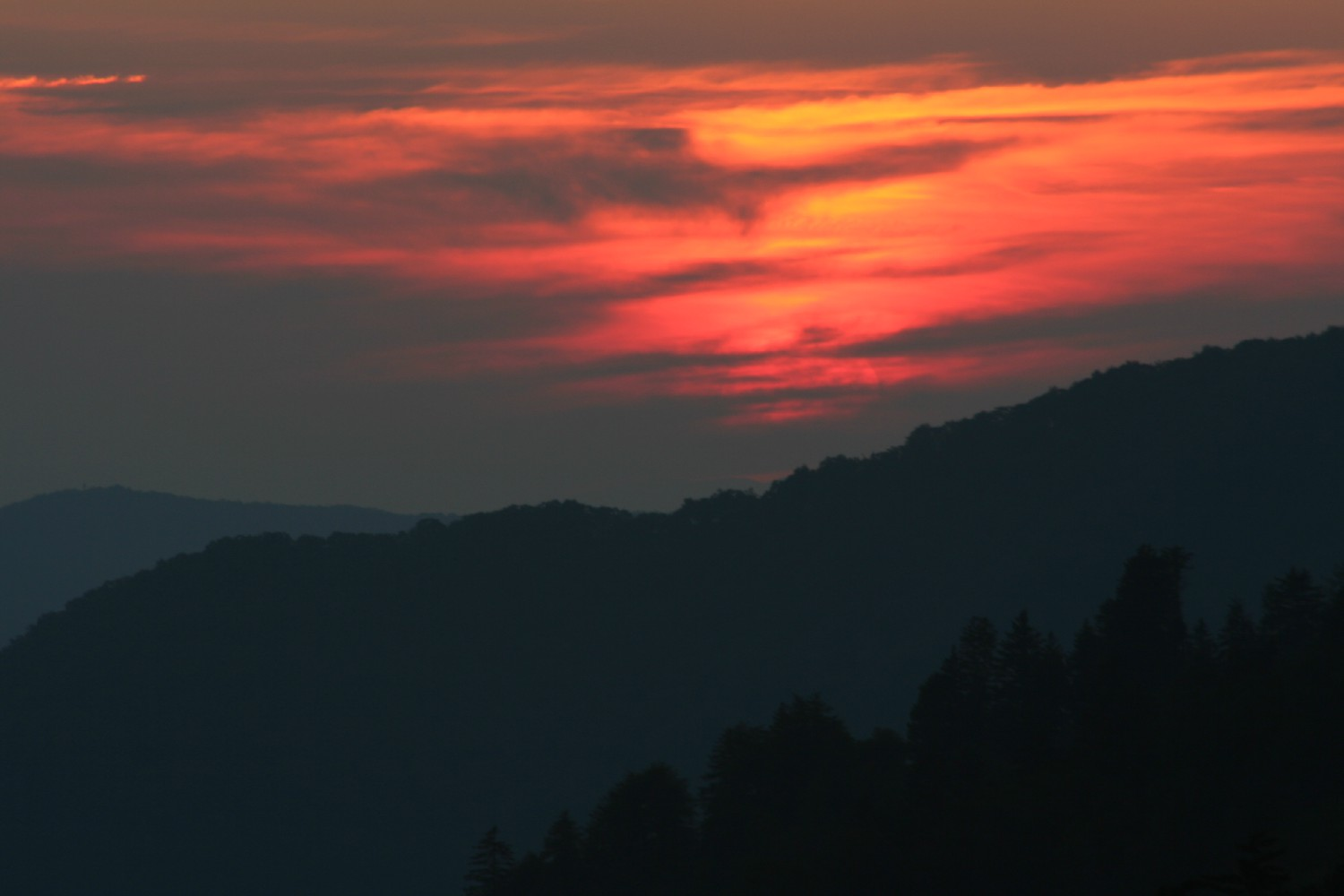 smokies sunset author szulecki joshua