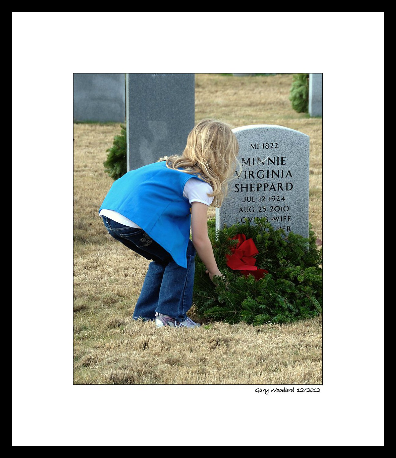 wreaths across america author woodard gary