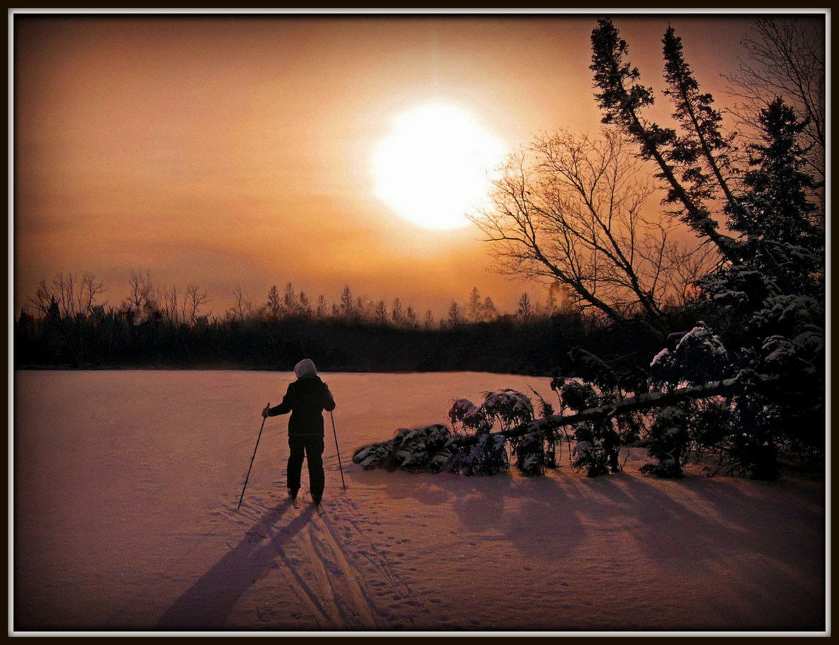 cross country skiing into the sunset author plusk pluskwik paul
