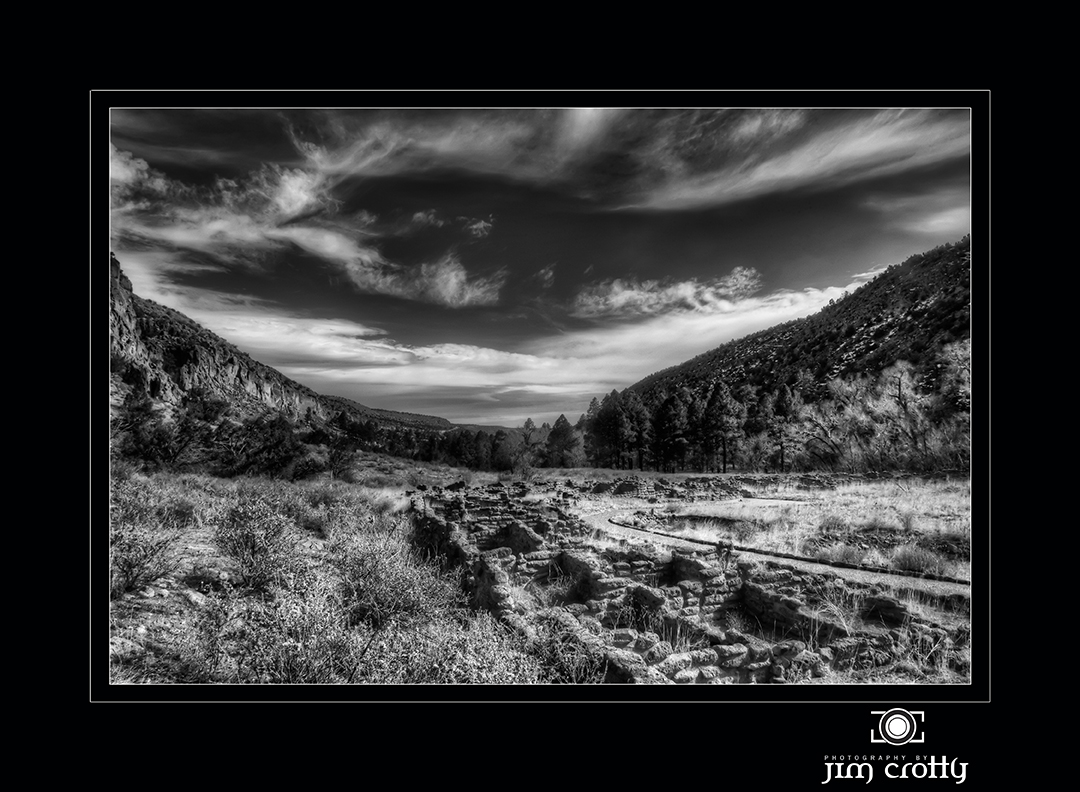 winter sky over the canyon black and white photogr crotty jim