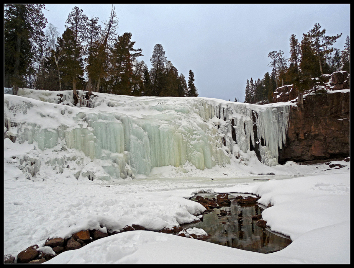 lower falls at gooseberry state park author pluskwik paul