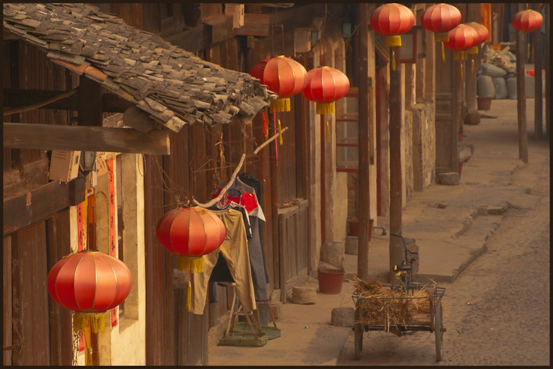 main street in daxu author downs jim