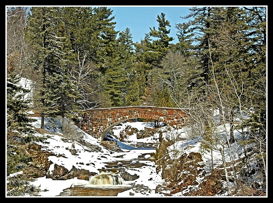 spring view of the lester river author pluskwik p paul