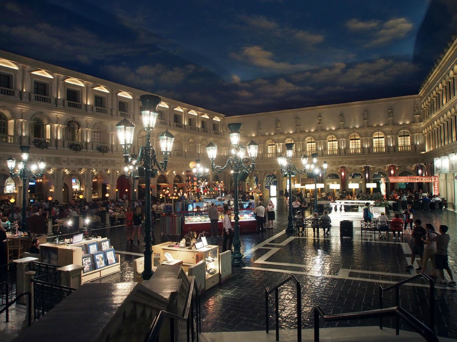 venetian square evening author hull ray