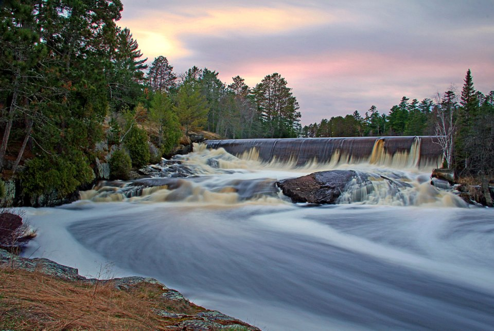 spring flow at the pike river dam author pluskwik paul