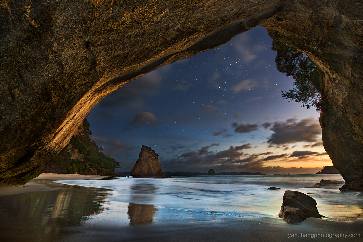 cathedral cove photo of the day august author zh zhang yan