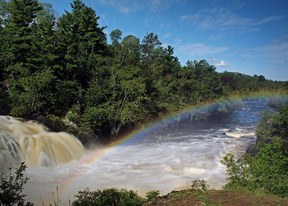 rainbow at kawishiwi falls author pluskwik paul
