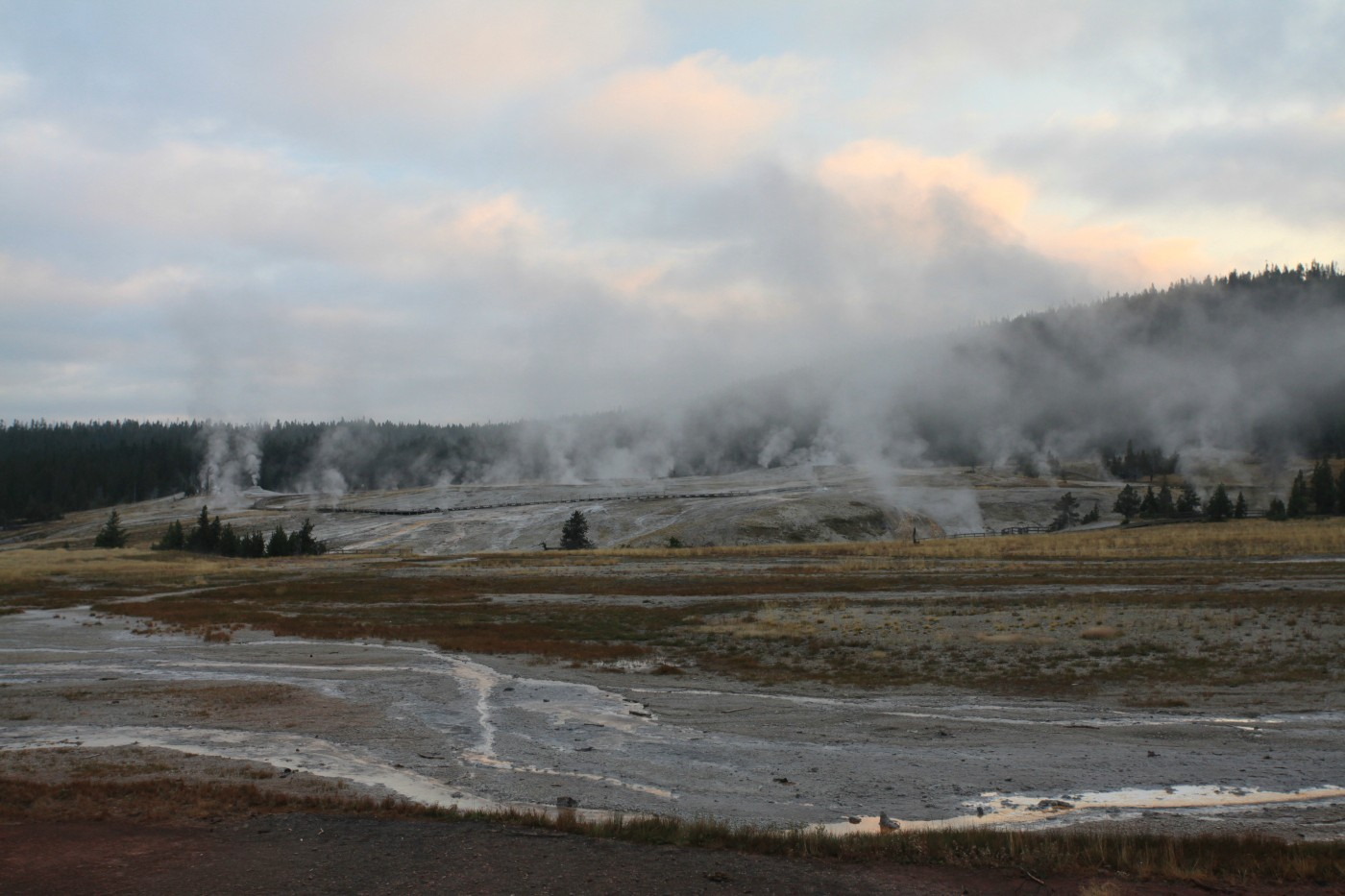 geyser hill yellowstone national park author sz szulecki joshua