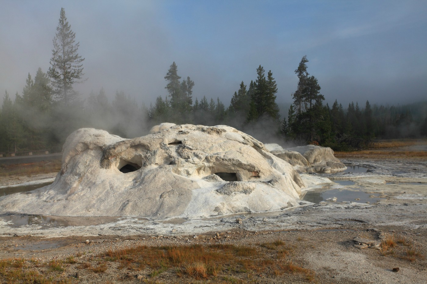 grotto geyser yellowstone national park author szulecki joshua