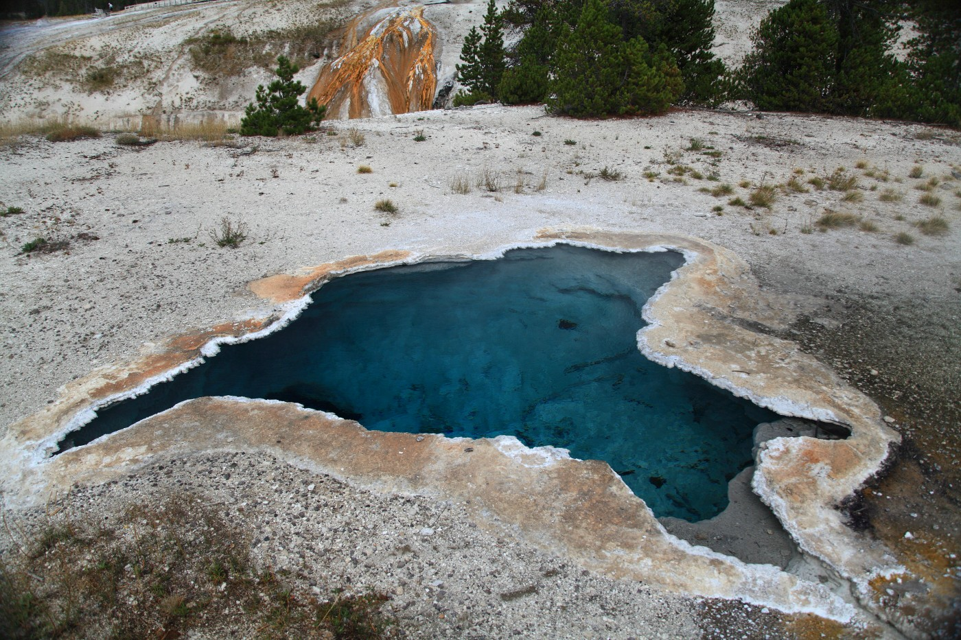 blue star pool upper geyser basin yellowstone szulecki joshua