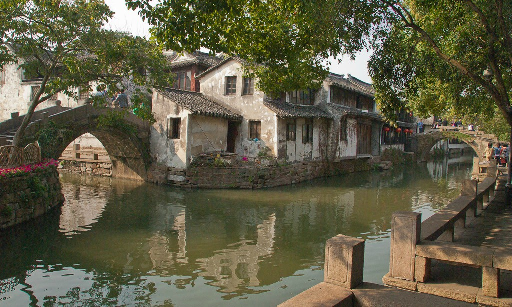 zhouzhuang canals author downs jim