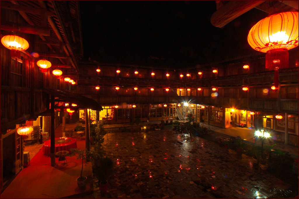 tulou hotel in fujian province see large author downs jim
