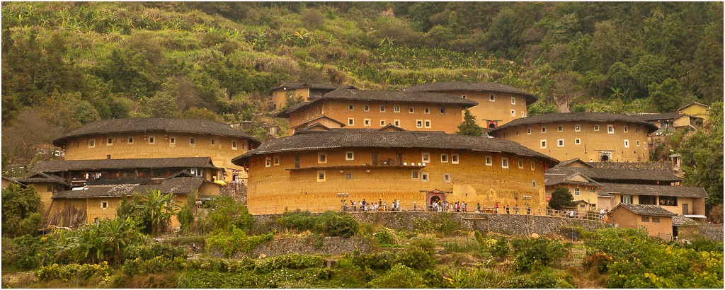 tulou communal clan residences see large author downs jim