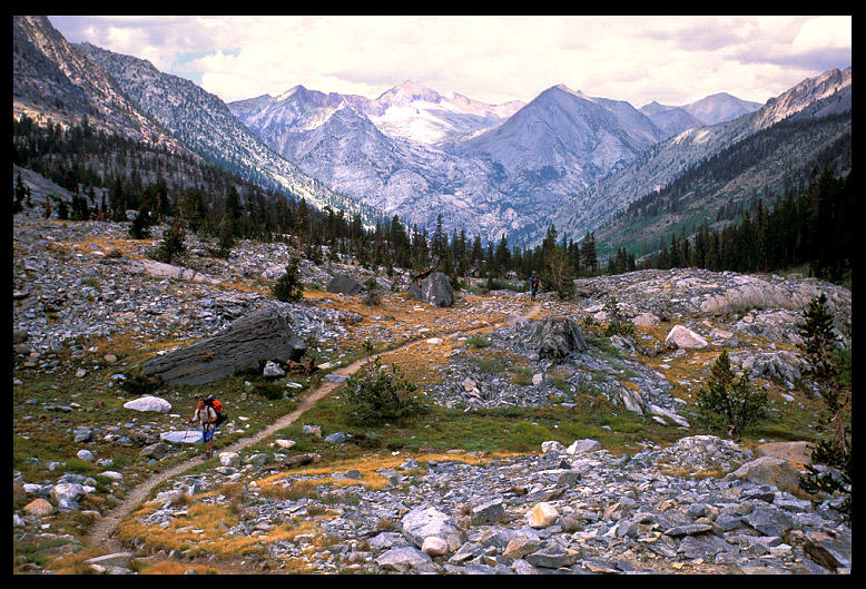 dave hiking trail to rae lakes author ernst brian