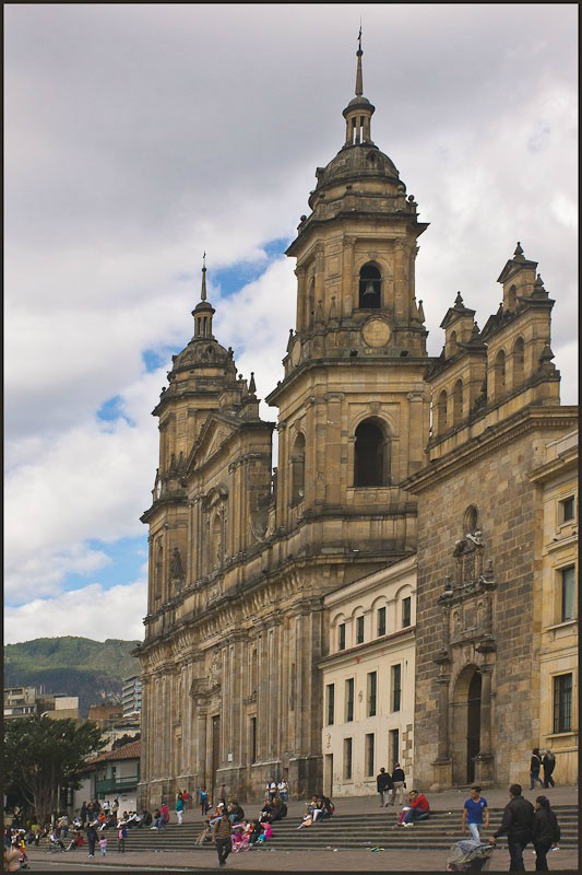 bogota cathedral the sacred chapel bishops palace downs jim