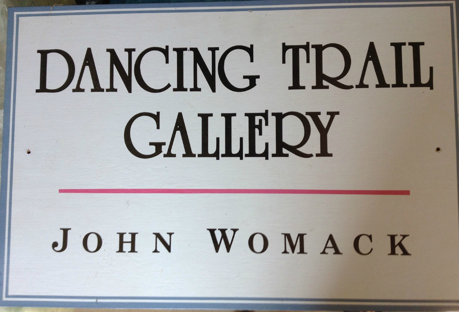 dancing trail gallery author womack john