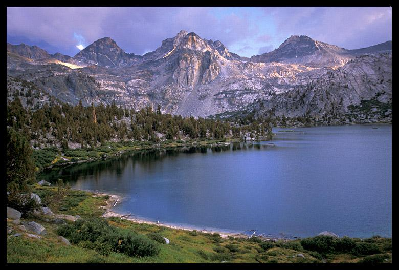 middle rae lake kings canyon national park author ernst brian