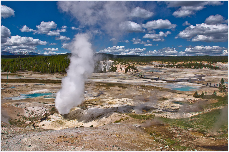 yellowstone thermal area pls see larger author d downs jim