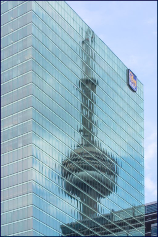 cn tower on glass author downs jim