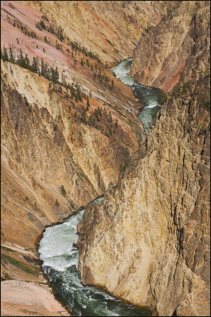 yellowstone river below falls author downs jim