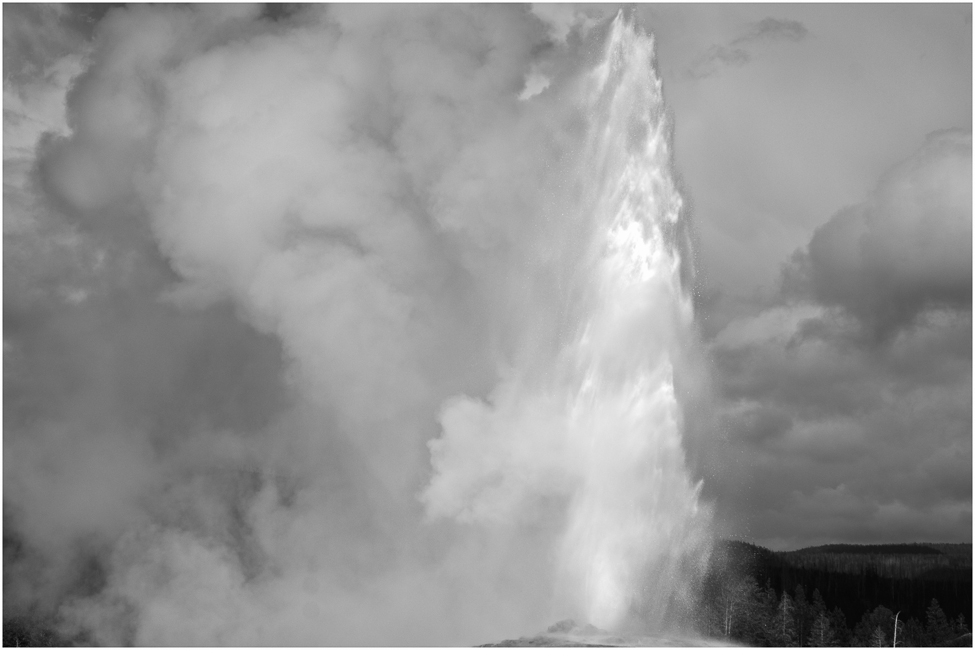 old faithful on windy day enlarge author downs j jim