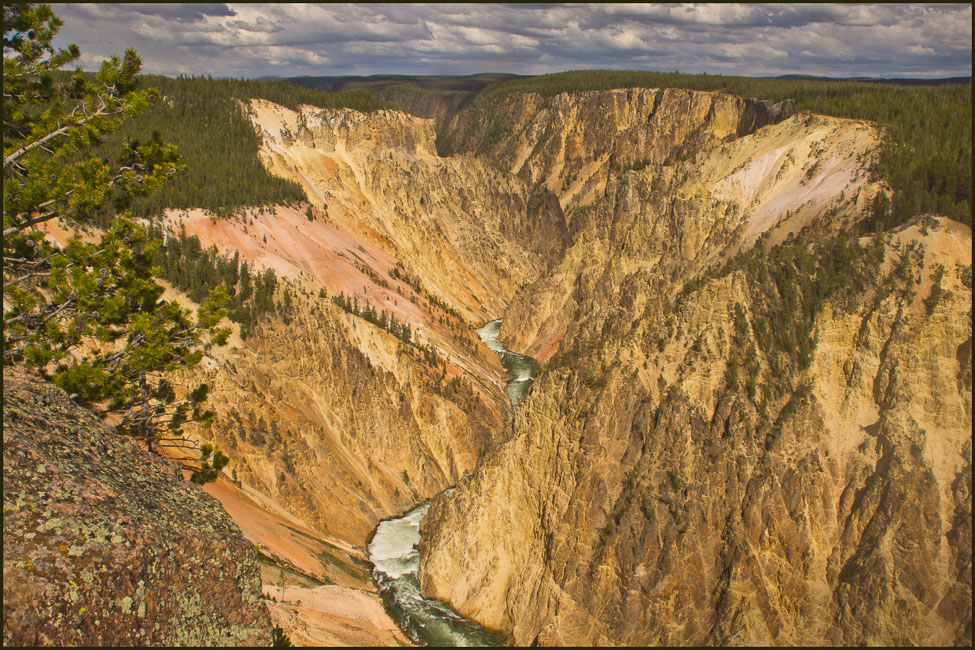 yellowstone river canyon enlarge author downs ji jim