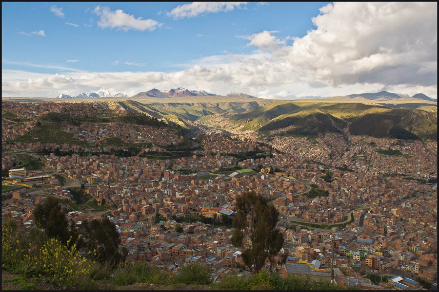 la paz bolivia metro area large to get better feel downs jim