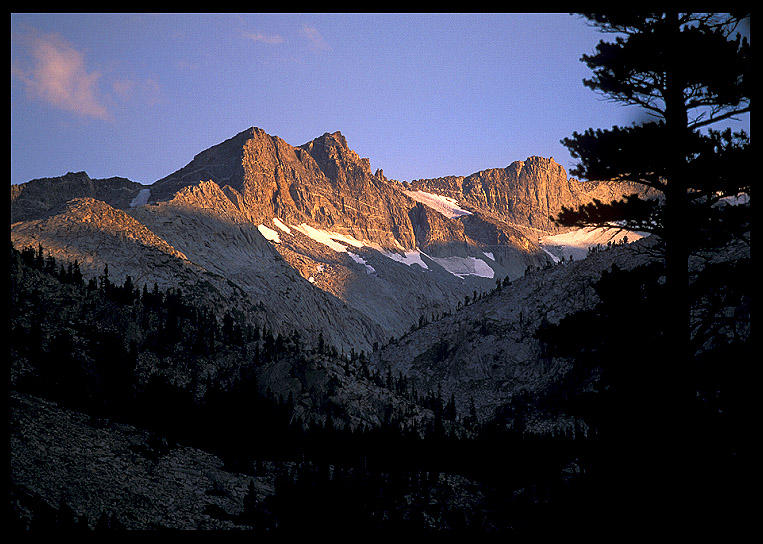 looking towards donahue pass from the lyell fork ernst brian