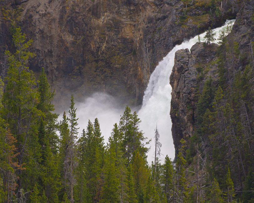 upper yellowstone falls enlarge author downs jim