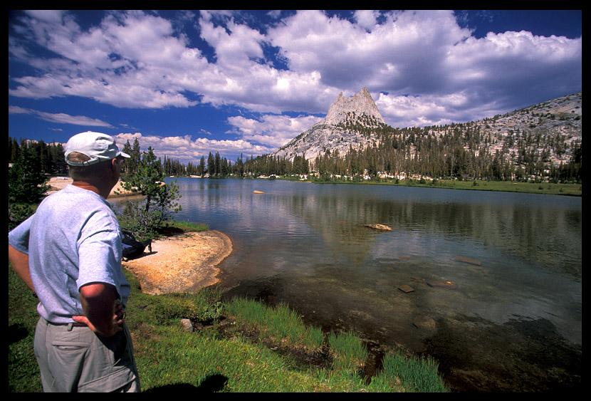 jim at cathedral lake author ernst brian