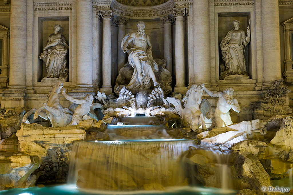 trevi fountain author chakraborty debejyo