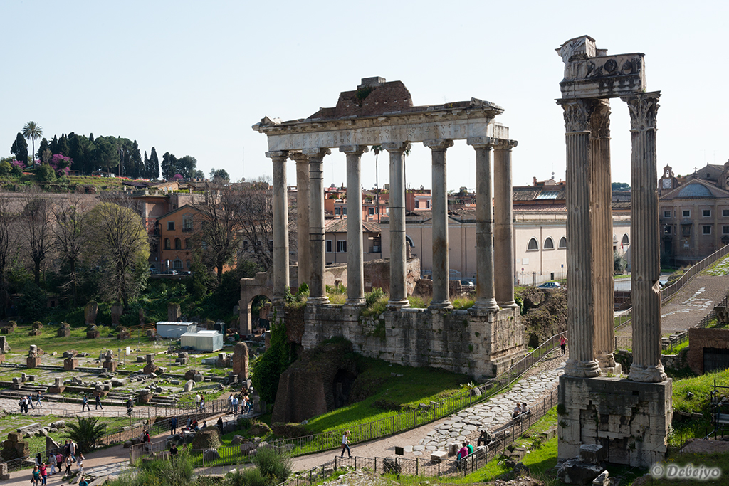 remains of temples in the roman forum author chak chakraborty debejyo