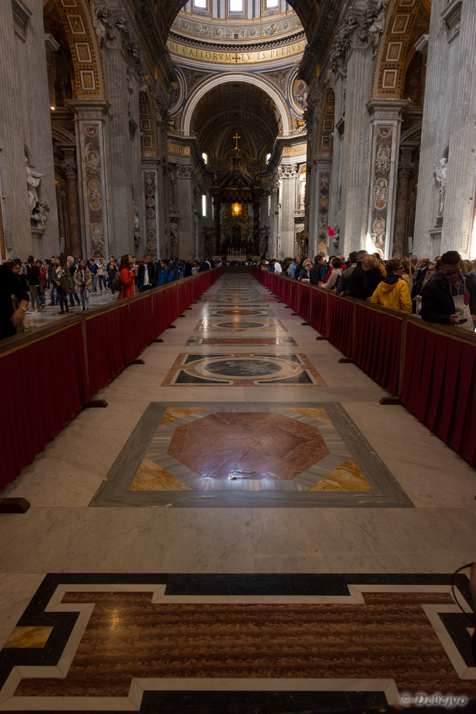 floor at st peter s basilica author chakraborty d debejyo